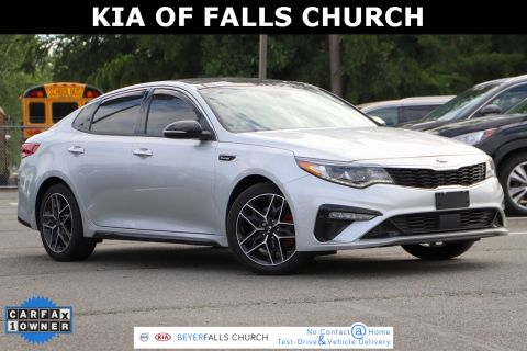 Certified Pre-Owned 2019 Kia Optima SX With Navigation