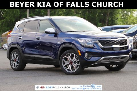 New 2021 Kia Seltos SX With Navigation & AWD
