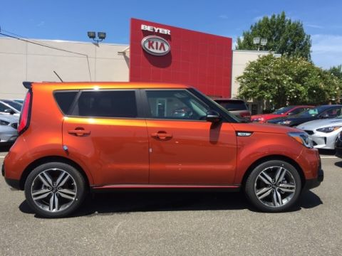 New 2018 Kia Soul Exclaim