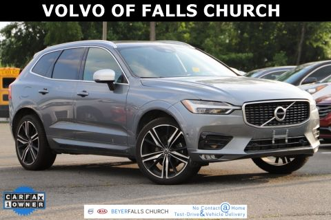 Certified Pre-Owned 2018 Volvo XC60 T5 R-Design With Navigation & AWD