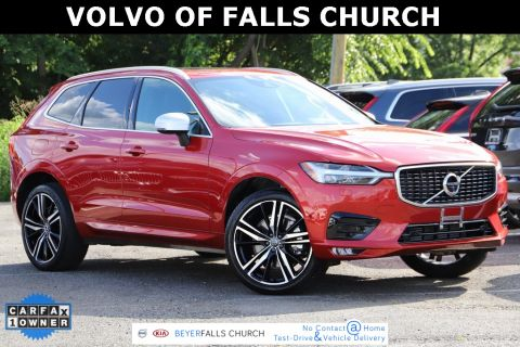 Certified Pre-Owned 2019 Volvo XC60 T6 R-Design With Navigation & AWD